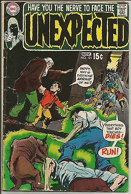 Unexpected 121...G+/VG...Adams cover...