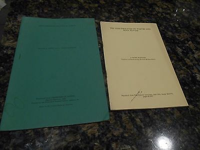 2 Antique Medical Books/electrolytes/histochemical Changes In Aging/1941&42