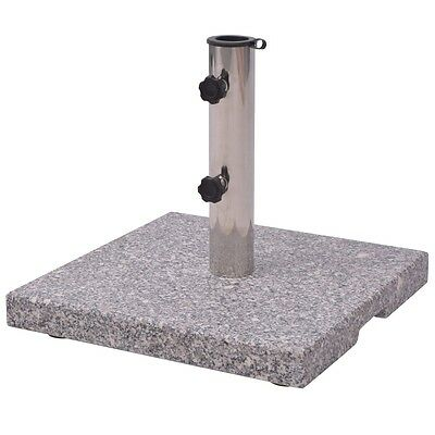 NEW Granite Parasol Base Umbrella Holder 20kg Firm and Sturdy Square Marble