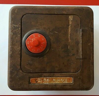 vintage fort knox coin bank
