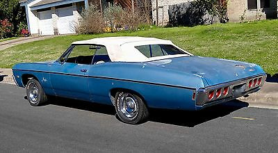 1968 Chevrolet Impala SS427 1968 Chevrolet Impala SS427 Convertible Classic Collector Low Miles Automatic
