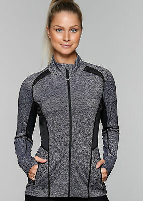 NEW Womens Lorna Jane Activewear   Reign Active Zip Through
