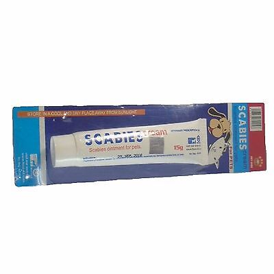 SCABIES CREAM 15gr Skin Ointment Cats & Dogs
