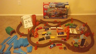 Thomas The Train Track Masters Special Misty Island Track Plus Extra Tomy Track