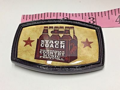 Buckle Stage Coach Country Music Original