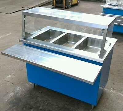 Shelleyglas Electric 3 Well Steam Table Model# KH-3-NU