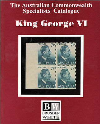 King George VI: Sections 6&7 of Australian Commonwealth Specialists' Catalogue