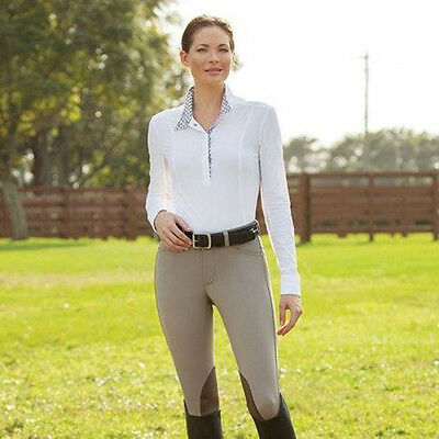 NEW FITS PerforMax Kimberly Knee patch Breeches Sz S Equestrian Riding Pants