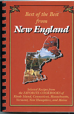 The Best of the Best from NEW ENGLAND Favorite Cookbook Recipes