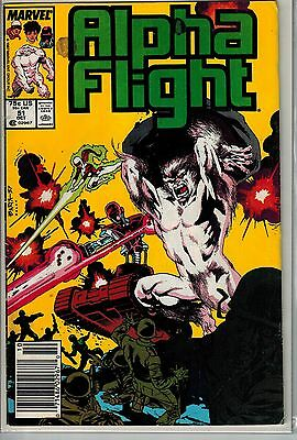 Alpha Flight - 051 - Marvel - October 1987