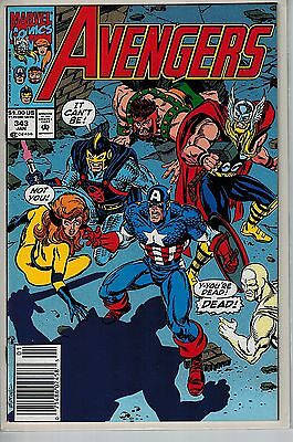 Avengers - 343 - Marvel - January 1992