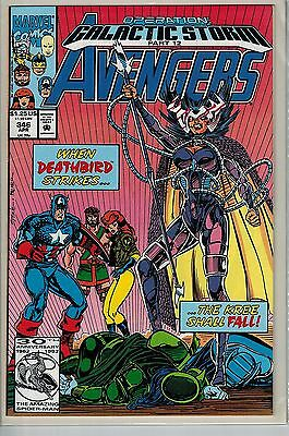 Avengers - 346 - Marvel - April 1992