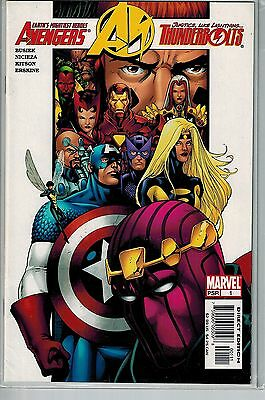 Avengers Thunderbolts - 001 - Marvel - May 2004