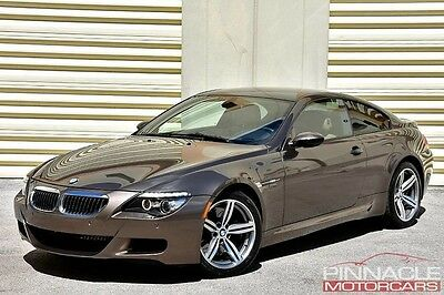 2008 BMW M6 Base Coupe 2-Door 2008 BMW M6 Coupe SMG 10k Miles 1.74% APR! One Owner! Clean Carfax! *Not M5 M3*