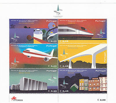 PORTUGAL S/S TRANSPORT and HOUSING (2002) MNH (**)