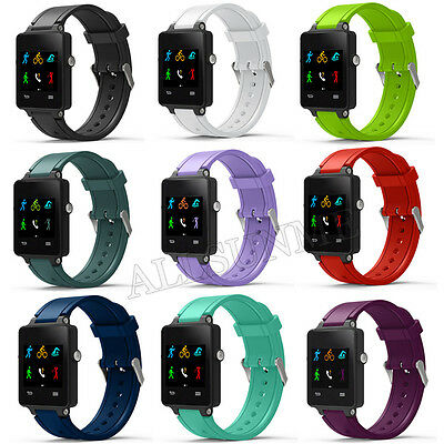 New Fashion Sports Silicone Bracelet Strap Band For Garmin Vivoactive Acetate