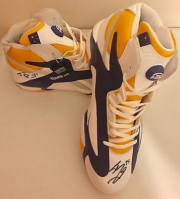 Shaquille O'Neal Shaq Attack X Politics Size 22 Shoes Signed 25th Anniversary