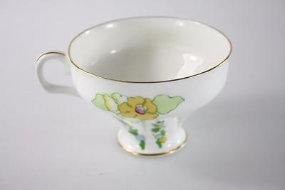 Vintage Royal Doulton England Floral Pattern Large Coffee Cup
