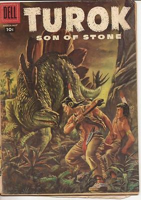 Dell Turok Son Of Stone #7 Friend Of The Wolf The Angry River Dinosaur Action