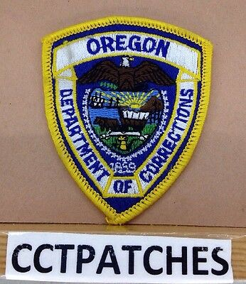 Oregon Department Of Corrections (Police) (Small) Shoulder Patch Or