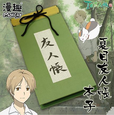 Natsume's Book of Friends Takashi Natsume Notebook Notepad Customized