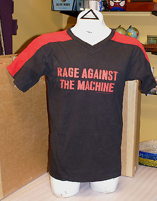 Vintage 1999 Rage Against The Machine RATM Two Tone Red Black Shirt L
