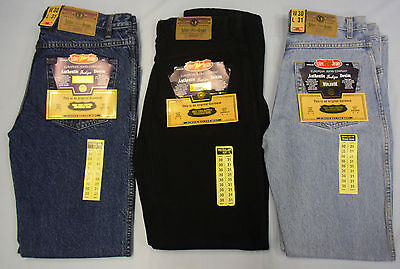 Adultes Jeans Hommes Mode Coupe Standard Jambe Résistant Grand Taille Coton
