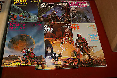 White Dwarf Magazine Issues 20 to 24 and 62 1980s Games Workshop DND