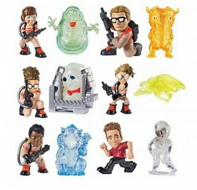 NEW Ecto Mini Ghostbusters COMPLETE Set of 12 Mini Blind Bag SEALED