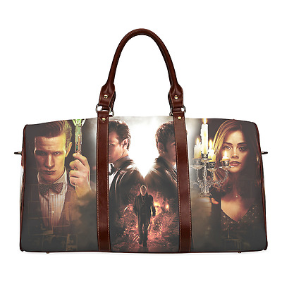 Doctor Who TV Show Theme Durable Canvas Travel Duffel Bag Unisex Outdoor