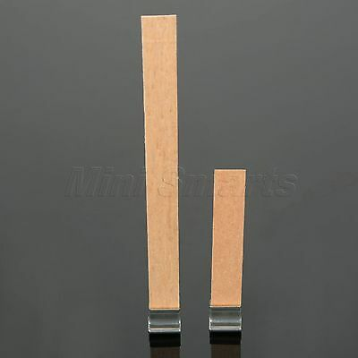 Iron Candle Wick Sustainers *10 + Wooden Candle Wicks *10 2Sizes Candle Making