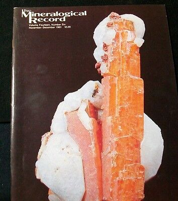 Ocl - Mineralogical Record  Magazines - 35+ Different Issues - Check Listing