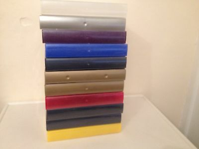 11 EMPTY MIXED COLOURED VHS Video Tape Cases ideal for storage etc