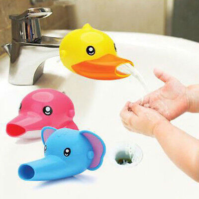 Cartoon Faucet Extender For Kid Child Hand Washing in Bathroom Sink Home Tool