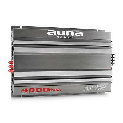 New Auna Ab650 4800W Car Stereo Audio 5 / 3 / 2 Channel Amplifier Sound System