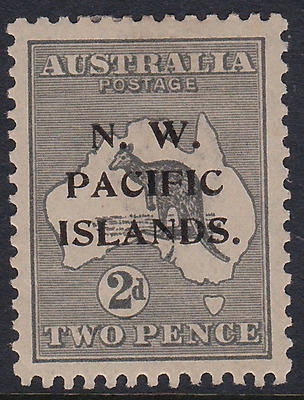 New Guinea 1919 2d Roo NW Pacific Islands Overprint mint