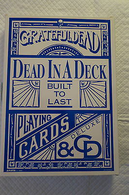 Grateful Dead Built to Last limited edition dead in a deck box