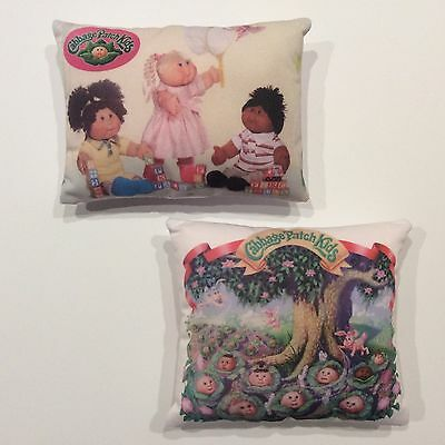 Cabbage Patch Dolls Picture Cushions x2 Kinds