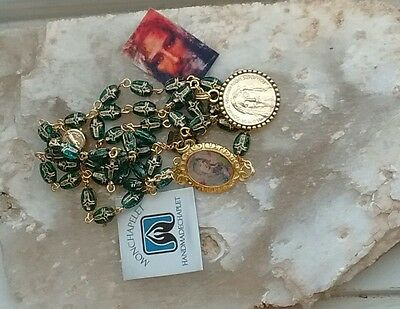 With Mother Perpetual Help Chaplet Holy Face reparation chaplet cross beads