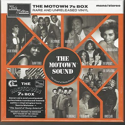 The MOTOWN 7s BOX Rare and Unreleased Vinyl. Volume One.