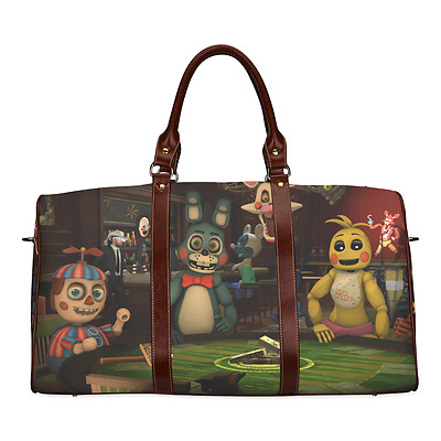 Five Nights at Freddy's Horror Game Durable Canvas Travel Duffel Bag Outdoor