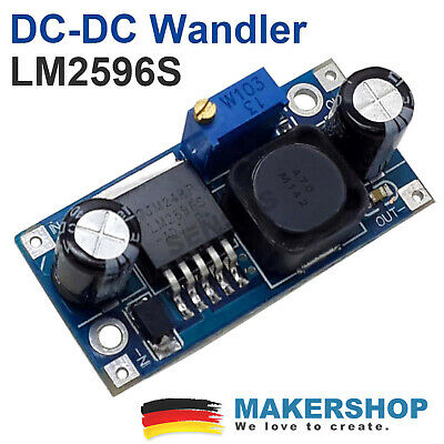 LM2596S DC Spannungswandler Spannungsregler LM2596 Arduino Board Step Down Mo...