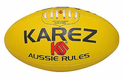 Karez Hand Stitch Synthetic Rubber 3 Ply Training Rugby Ball,4 Panel- Size 5