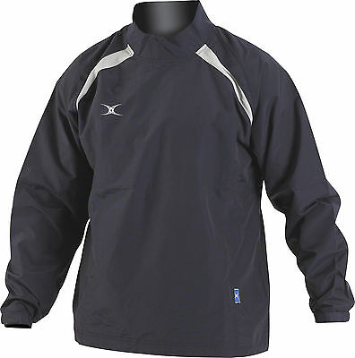 Clearance Line New Gilbert Rugby Jet Training Jacket Navy Grey XS