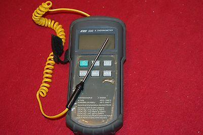 K type Thermometer UK BY CHY -50C -1300C Probe INCLUDED