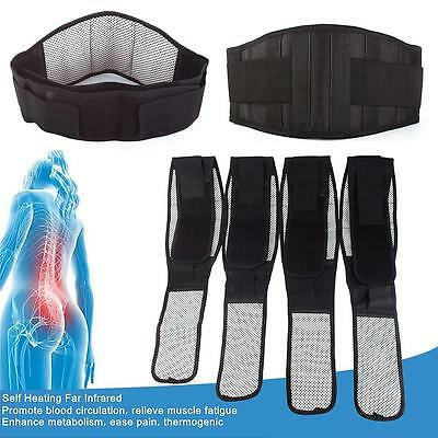 Tourmaline Self-heating Magnetic Therapy Waist Belt Lumbar Support Back Waist US
