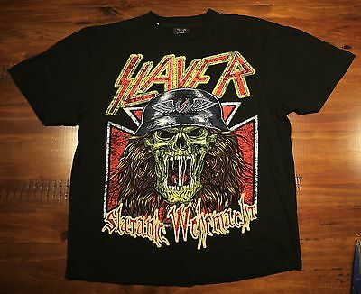 Slayer Black T-Shirt Size L