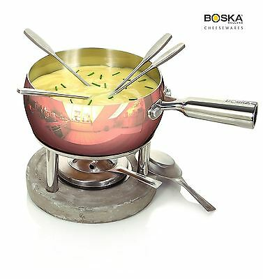Boska Holland Life Collection Cheese Fondue Set in Copper