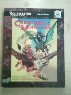 ROLEMASTER Sourcebook #5540 I.C.E. CREATURES & MONSTERS FRP RPG