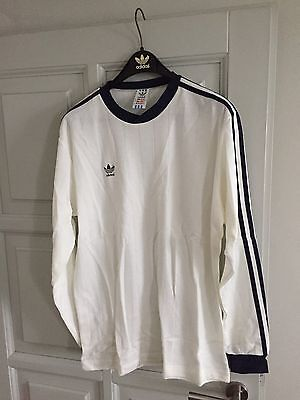 Vintage Adidas Longsleeve 1980's Rare Made in Yugoslavia Size L Deadstock. Rare